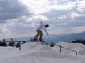Snowboard tricks, rails, Kartola, Bulgaria
