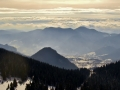 Pamporovo panorama, snowboard runs