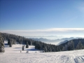 Pamporovo ski tracks, snowboarding with Snowcamp Bulgaria