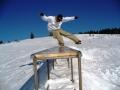 Snowboard rail, tricks, Kartola, Pamporovo