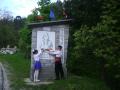 Entrance to Momchilovci, Snowcamp Bulgaria