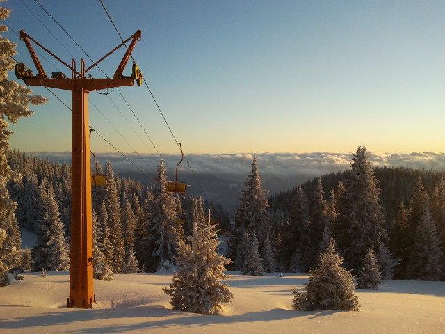 Skir list Pamporovo, Snowcamp Bulgaria