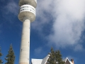 Pamporovo tower in clouds